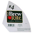 Coffeemaker #4 cone style paper filters 200 count