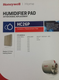 Honeywell HE260A Anti-Microbial Humidifier Filter Pad HC26P1002