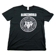 Blokesworld Ramones style shirt - Front
