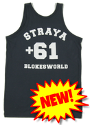 Blokesworld Singlet - Back