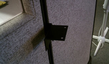 Corner Support Brackets for Steelcase Avenir Work Station Work Surfaces PAIR