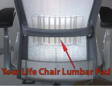 Lumbar pad for knoll life chair - Knoll life chair parts ...