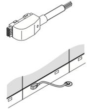 Haworth Premise NEBF-1 Base Feed Module Hardwire Connection