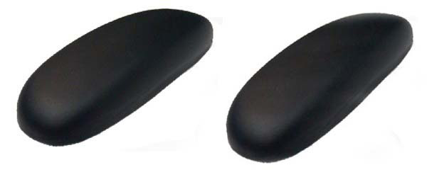 Replacement Arm Pads Steelcase Criterion 453 Chair BLACK Office