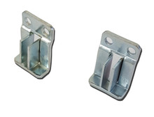 Pair of Flush Mount File Brackets for Hanging Files for Wooden Cabinets