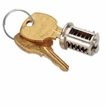 File Cabinet Lock Core and Replacement Keys Optional Control Key