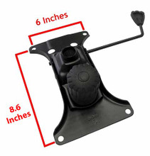 """Replacement Chair Mechanism Seat Plate With 6"""" x 8.6"""" Screw Bolt Mounting Holes"""