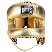 Cleto Reyes Redesigned Headgear Facesaver w/ Nylon Bar - Gold