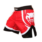Venum Electron 2.0 MMA Fight Shorts - Red
