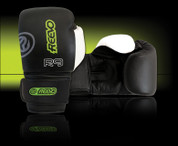 Reevo R9 War Hammer Sparring Gloves - 10oz - Black
