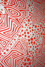 Tarnikinni Cotton Drill Fabric - Bright Red