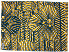 Wurankuwu Yampatukuni Tea Towel - Blue Yellow and White