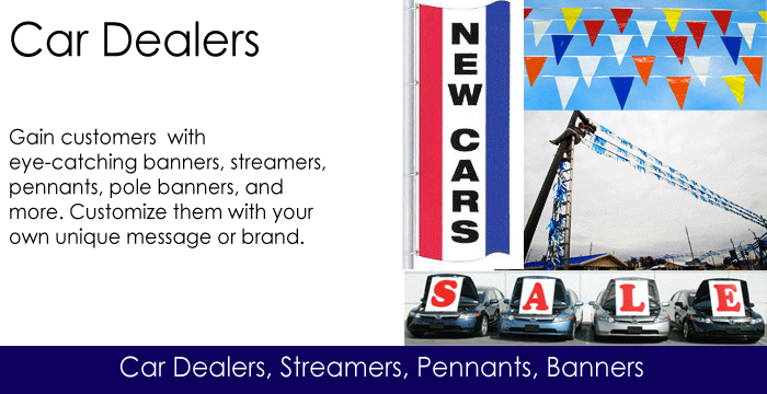 Car Dealer Flags
