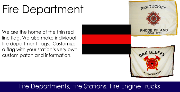 Fire Department Flags