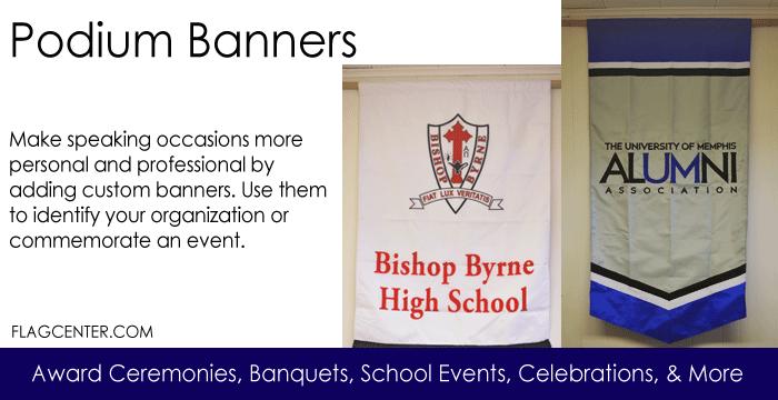 Podium Banners