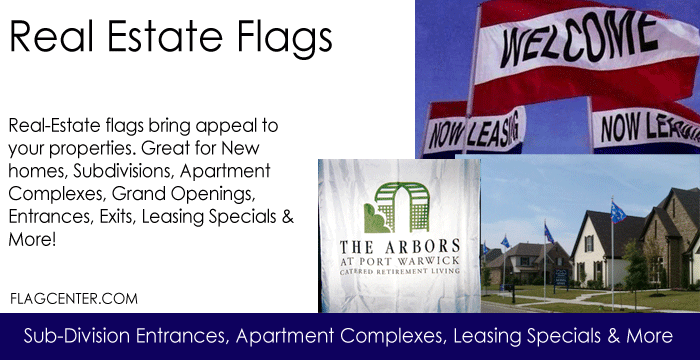 Real-Estate Flags