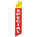Today's Specials Feather Flag