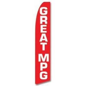 Great MPG Feather Flag