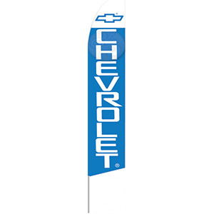 Chevrolet Dealership Feather Flag