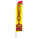 Car Accessories Feather Flag