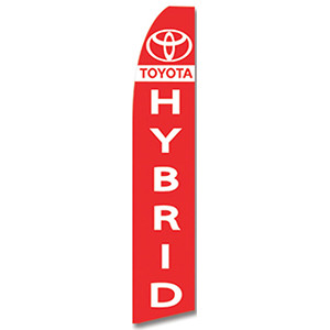 Toyota Hybrid Dealership Feather Flag