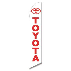 Toyota Dealership Feather Flag