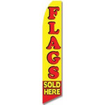 Flags Sold Here Feather Flag
