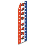 Used Cars - Stars - Feather Flag