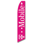 T-Mobile Feather Flag