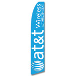 At&T Wireless Authorized Agent Feather Flag