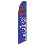 Metro PCS # 1 (Purple) Feather Flag