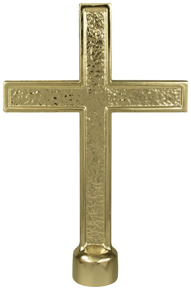 Metal Cross Gold Cross Cross Finial Top Topper
