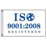 ISO 9001:2008 Registered Flag