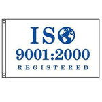 ISO 9001:2000 Registered Flag