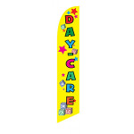 Day Care (yellow) Feather Flag