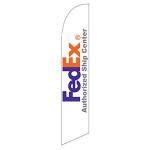 FedEx Authorized Ship Center Feather Flag