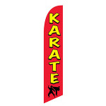 Karate Feather Flag