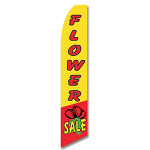 Flower Sale Feather Flag