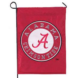 University of Alabama Appliqued Garden Flag