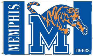 University of Memphis Printed 3' x 5' Flag