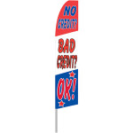 No Credit/Bad Credit Feather Flag