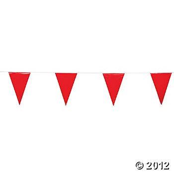 Red string pennant