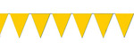 Yellow String Pennants - Heavy Duty