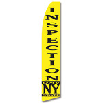 NYC Inspection Feather Flag