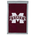 Mississippi State Bulldogs Appliqued House Banner