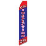 State Inspection Feather Flag