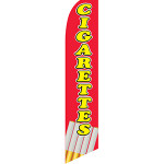 Cigarettes #2 Feather Flag