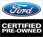 Ford Certified Pre-Owned Car Flag
