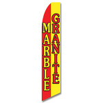Marble/Granite Feather Flag