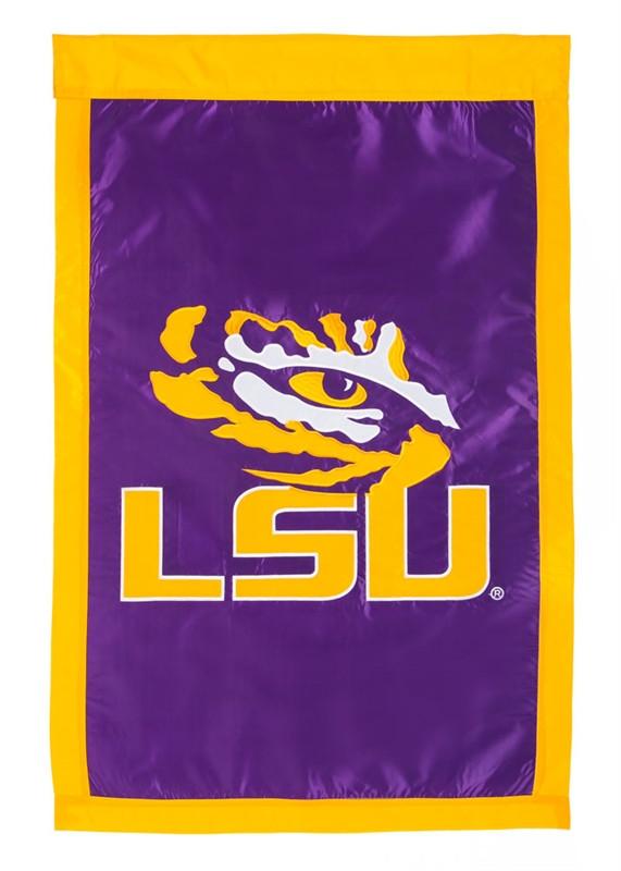 LSU - Appliqued House Banner